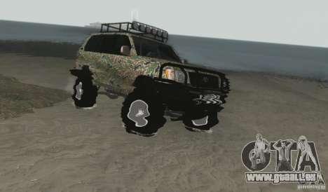 Toyota Land Cruiser 100 Off Road pour GTA San Andreas vue de droite