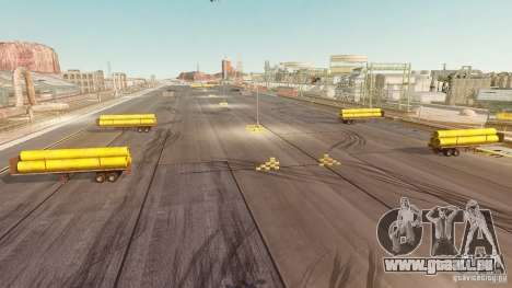 Nevada Drift Map für GTA 4