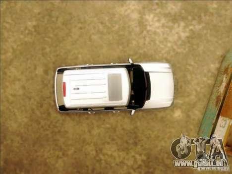 Land-Rover Range Rover Supercharged Series III pour GTA San Andreas vue de côté