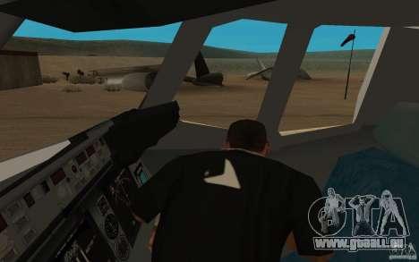 C-17 Globemaster III pour GTA San Andreas vue arrière