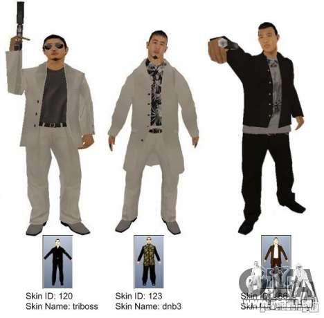 New Yakuza für GTA San Andreas zweiten Screenshot