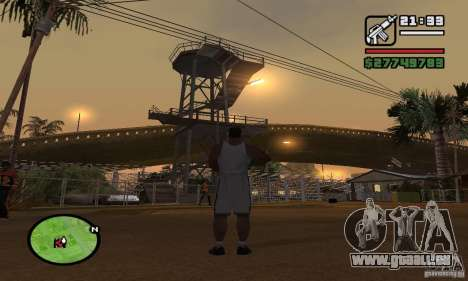 Base GROOVE Street pour GTA San Andreas