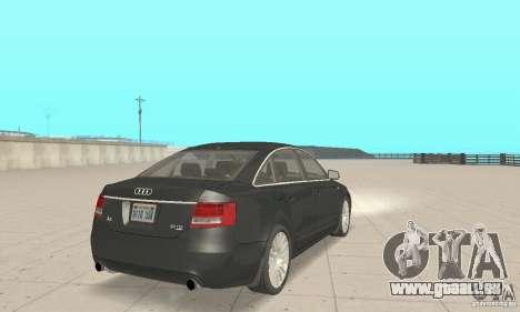 Audi A6 3.0 TDI quattro 2004 pour GTA San Andreas laissé vue