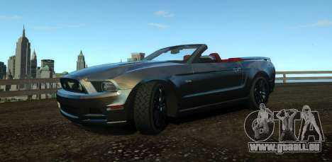Ford Mustang GT Convertible 2013 für GTA 4