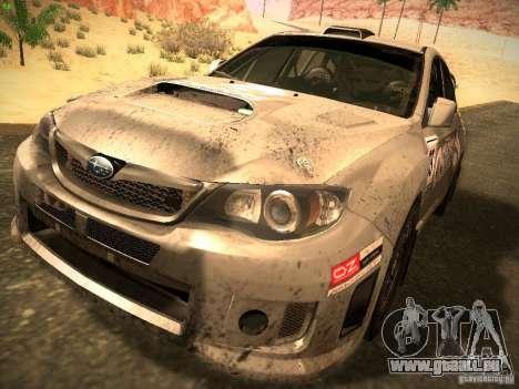 Subaru Impreza Gravel Rally pour GTA San Andreas