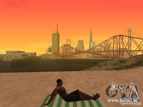 Natte de repos pour GTA San Andreas septième écran