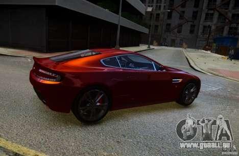 Aston Martin V12 Vantage 2010 pour GTA 4 est une gauche