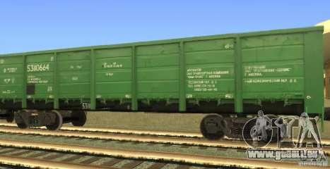GON 53110664 pour GTA San Andreas laissé vue