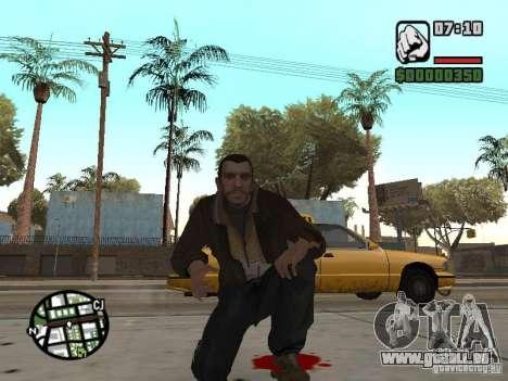 Niko Bellic für GTA San Andreas zehnten Screenshot