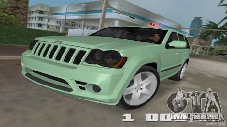 Jeep Grand Cherokee pour GTA Vice City