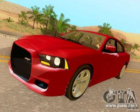 Dodge Charger SRT8 2012 pour GTA San Andreas vue intérieure