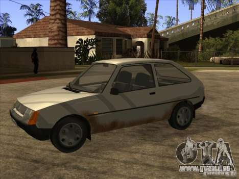 ZAZ Tavria 1102 pour GTA San Andreas laissé vue