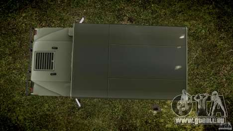 Hummer H1 Original für GTA 4 rechte Ansicht