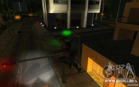 Cyrax aus Mortal Kombat 9 für GTA San Andreas dritten Screenshot