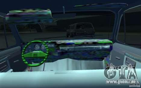 Chevrolet Silverado pour GTA 4 Vue arrière