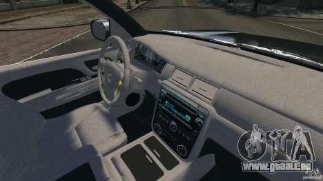 Chevrolet Avalanche Stock [Beta] pour GTA 4 Vue arrière