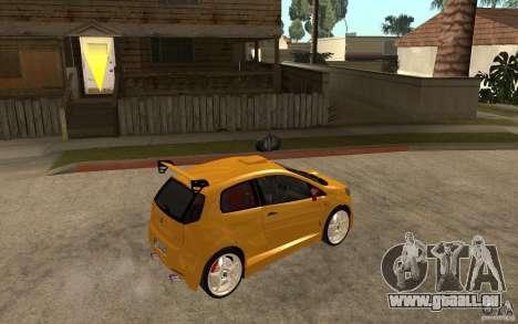 Fiat Grande Punto Tuning pour GTA San Andreas vue de droite