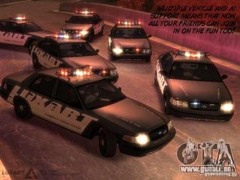 EMERGENCY LIGHTING SYSTEM V6 für GTA 4 sechsten Screenshot