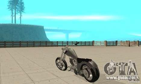 GTAIV Hellfury pour GTA San Andreas sur la vue arrière gauche