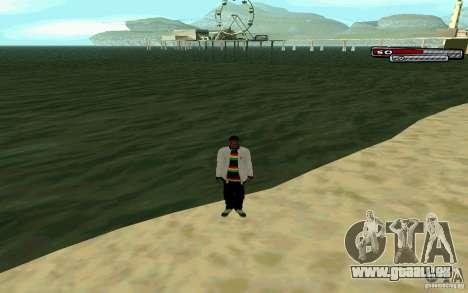 Jamaikanische HD-Haut für GTA San Andreas fünften Screenshot