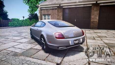 Bentley Continental SuperSports 2010 [EPM] für GTA 4 hinten links Ansicht