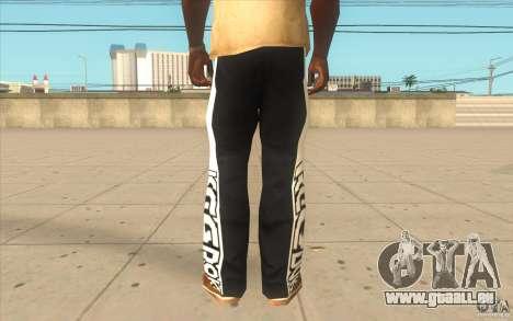 Reebok Sporthose für GTA San Andreas dritten Screenshot