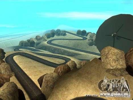 Downhill Drift pour GTA San Andreas troisième écran