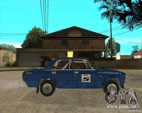 LADA 2105 VFTS Rallye für GTA San Andreas rechten Ansicht