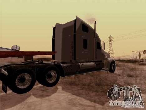 Freightliner Coronado für GTA San Andreas zurück linke Ansicht