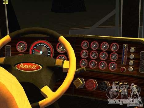 Peterbilt 379 Wrecker pour GTA San Andreas vue de droite
