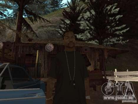 Xzibit pour GTA San Andreas deuxième écran
