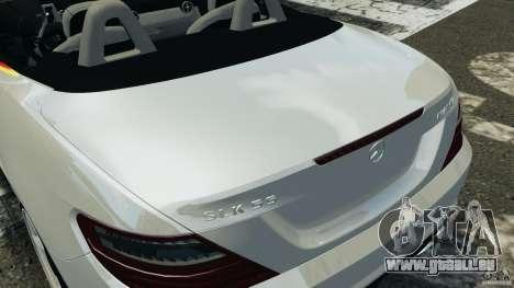 Mercedes-Benz SLK 2012 v1.0 [RIV] pour GTA 4 est une vue de dessous
