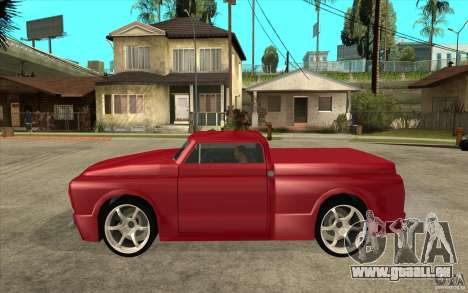 Slamvan Custom pour GTA San Andreas laissé vue