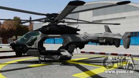 Hubschrauber C.E.L.L. für GTA 4 linke Ansicht