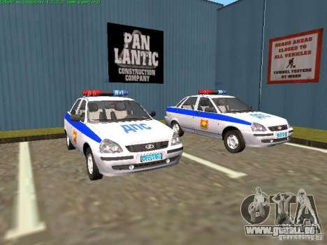 LADA 2170 Polizei für GTA San Andreas