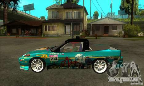Nissan 200sx from Moscow Drift für GTA San Andreas linke Ansicht