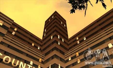 Le nouvel hôpital de HP pour GTA San Andreas deuxième écran