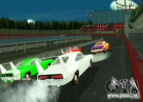 Nascar Rf pour GTA San Andreas deuxième écran