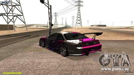 Nissan Silvia S14 kuoki RDS für GTA San Andreas zurück linke Ansicht