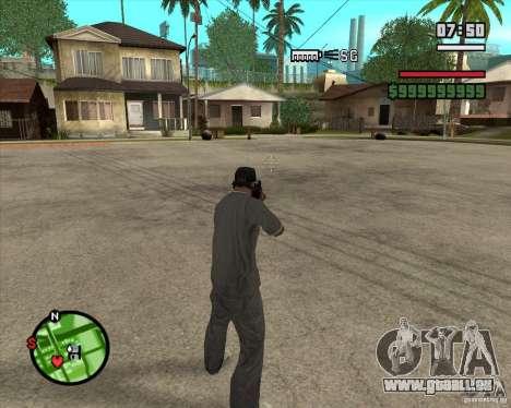 Schnickschnack für Waffen für GTA San Andreas her Screenshot