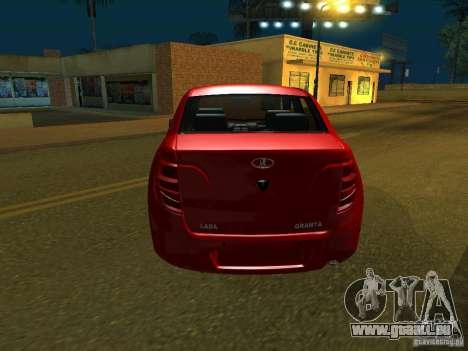 Lada 2190 Granta für GTA San Andreas rechten Ansicht