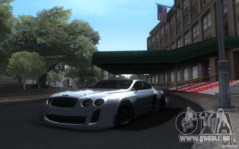 Bentley Continental Super Sport Tuning pour GTA San Andreas