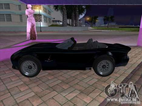 Banshee de gta 4 pour GTA San Andreas laissé vue