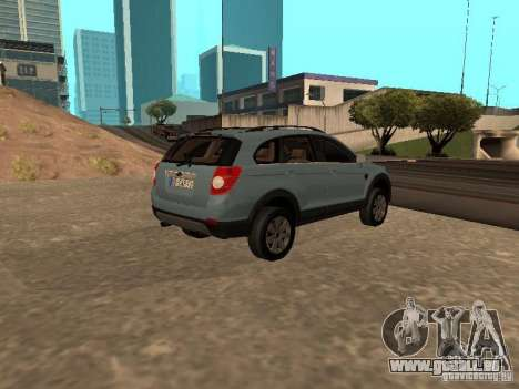Chevrolet Captiva für GTA San Andreas linke Ansicht