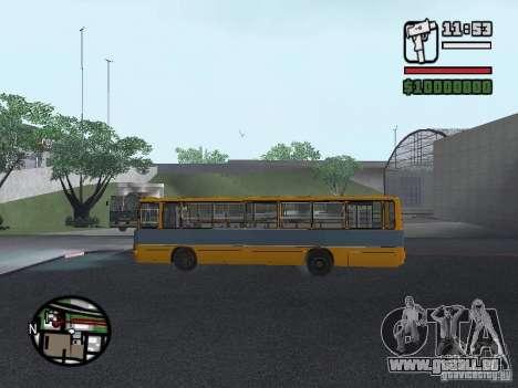 Ikarus 263 für GTA San Andreas Seitenansicht