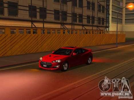 Hyundai Genesis Coupé 3.8 Track v1. 0 für GTA San Andreas Räder
