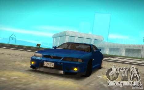 Nissan Skyline R33 GT-R V-Spec pour GTA San Andreas vue de droite