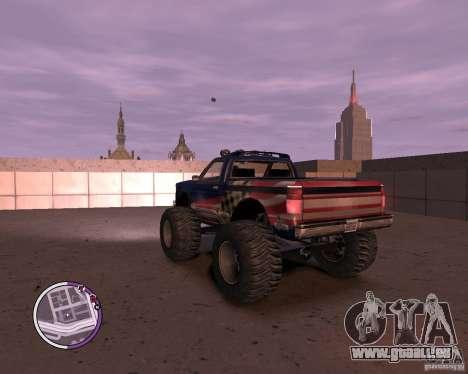 Monster from San Andreas für GTA 4 hinten links Ansicht