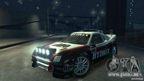 Ford RS200 Evolution Rallycross pour GTA 4 est un droit