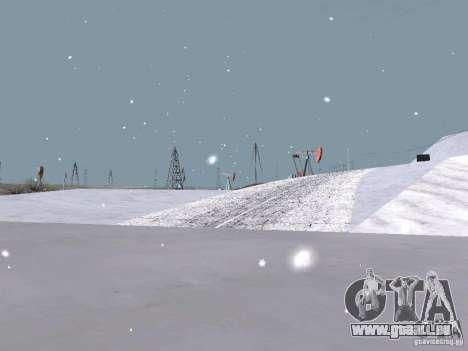 Neige pour GTA San Andreas douzième écran